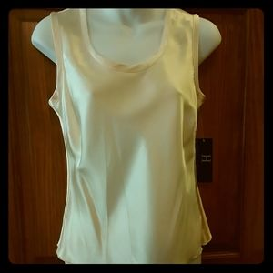 Hilfiger silk cream shell